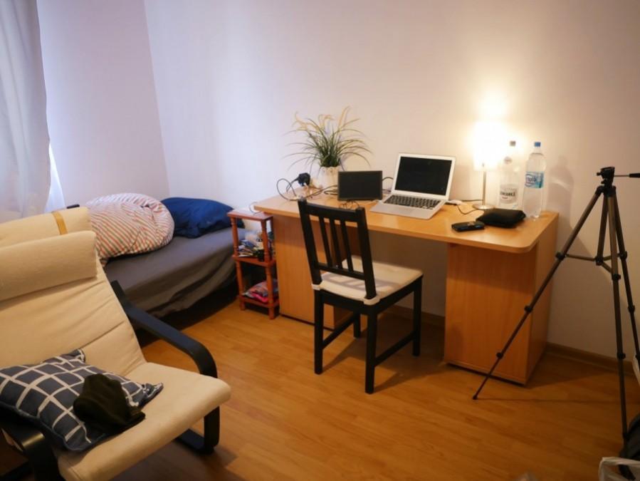 ワルシャワのAirbnbで借りた家
