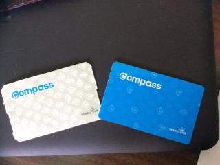 バンクーバーのCompass cardとSingle ticket
