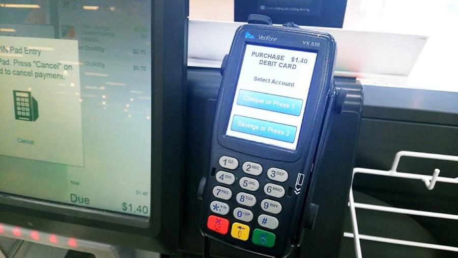 クレジットカード機器