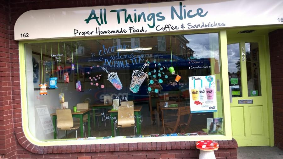 ボーンマス カフェ All Things Nice(オールシングナイス)