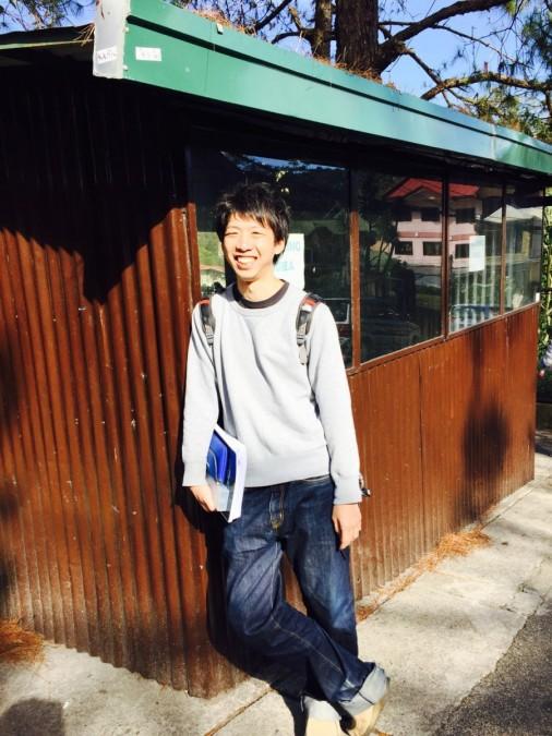 フィリピンのバギオに留学中の様子