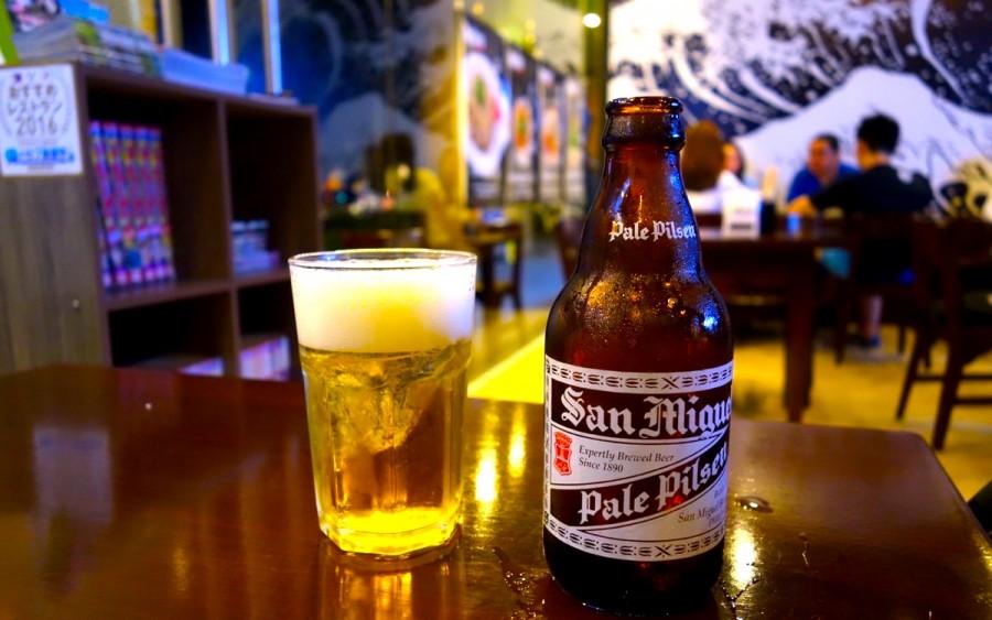 フィリピンのビール サンミゲル ピルスン