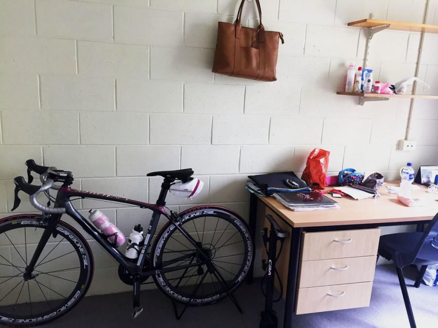 グリフィス大学の寮の個室