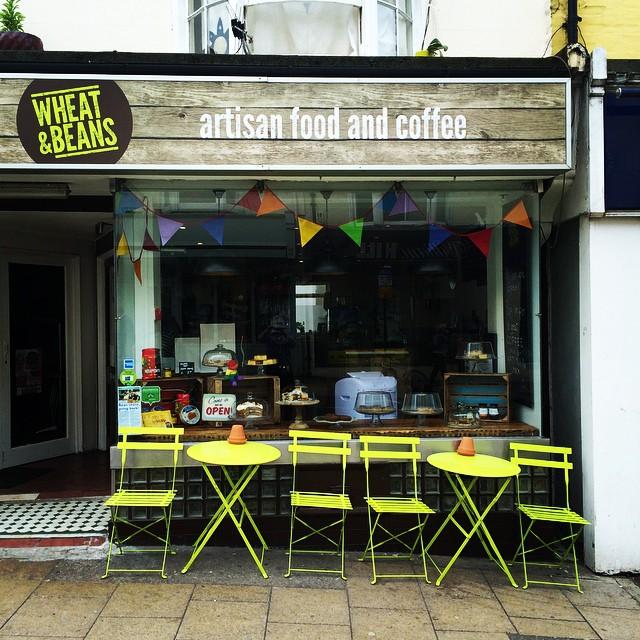 ブライトン カフェ Wheat & Beans Cafe(ウィートアンドビーンズカフェ)