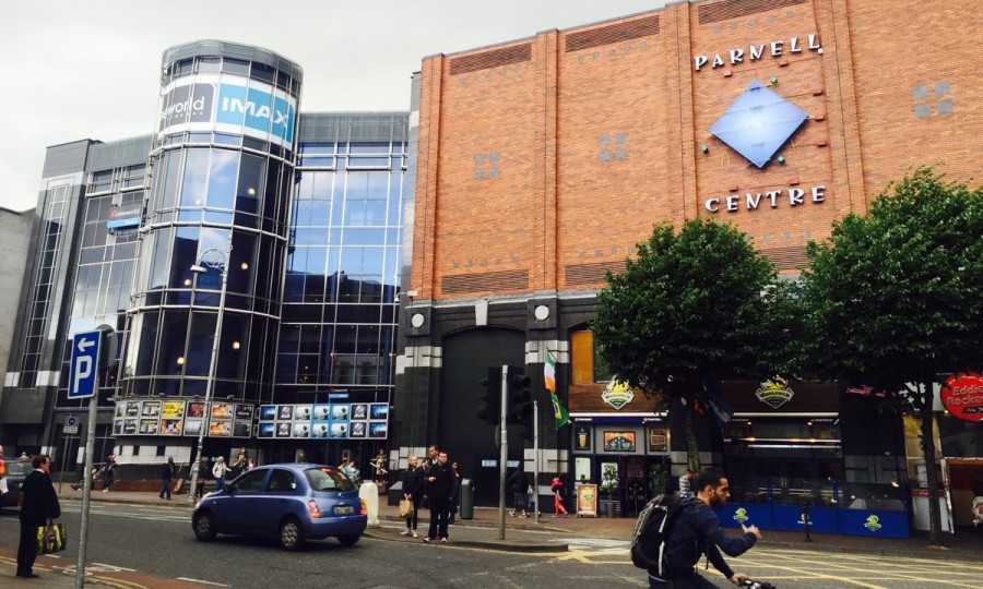 ダブリン市内にある映画館