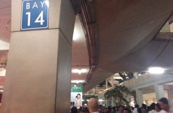 マニラ空港 BAY14