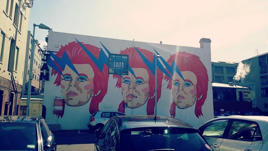 ウェリントンの壁画アート
