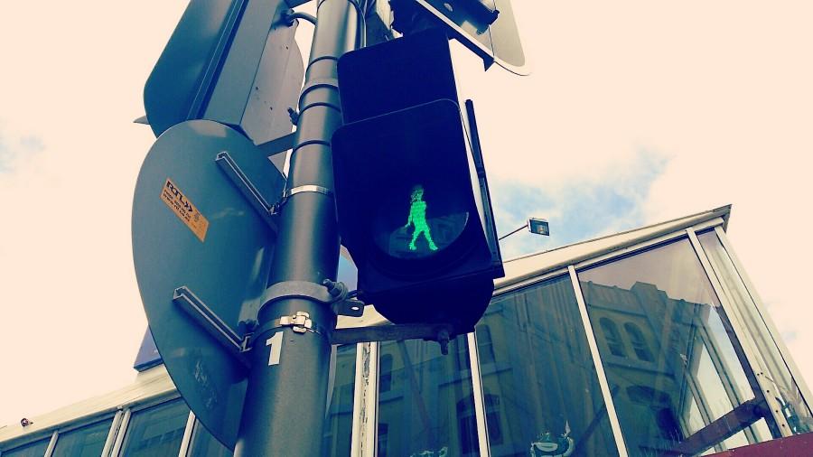 ウェリントンの歩行者用信号