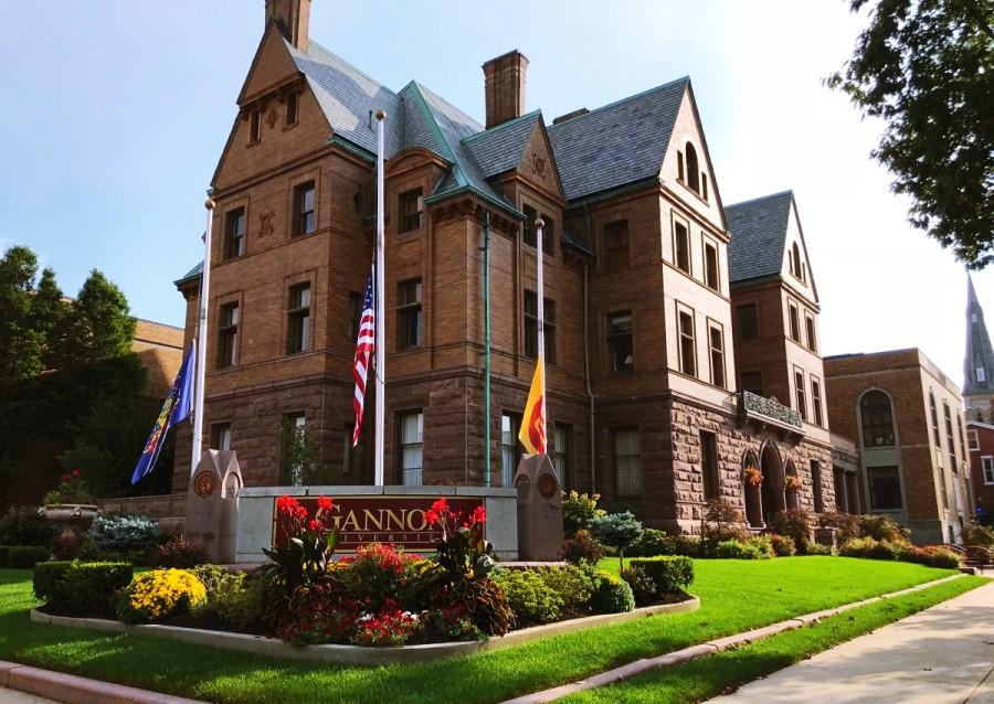 アメリカの大学キャンパス
