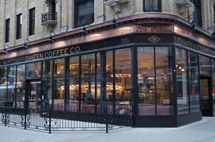 トロント カフェ ディニーン コーヒー(Dineen Coffee Co.)