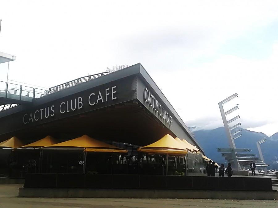 バンクーバー  レストラン Cactus Club Cafe (カクタスクラブ カフェ)