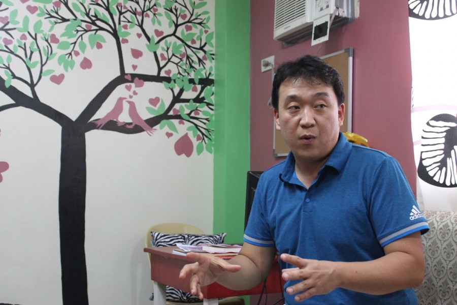 CEBU ESLの韓国人校長