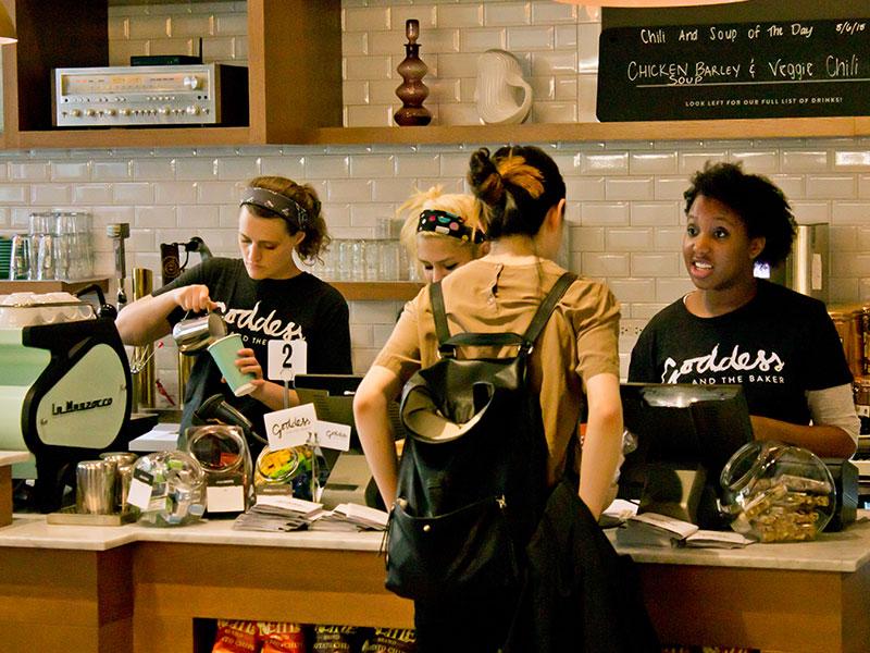 シカゴ カフェ GODDESS AND THE BAKER