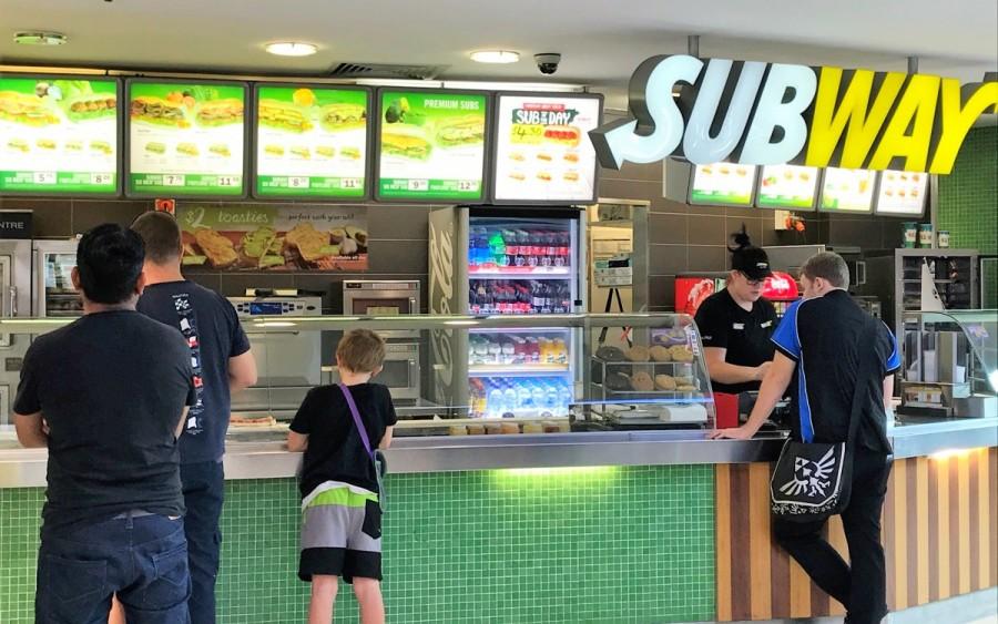 オーストラリアのSUBWAY(サブウェイ)