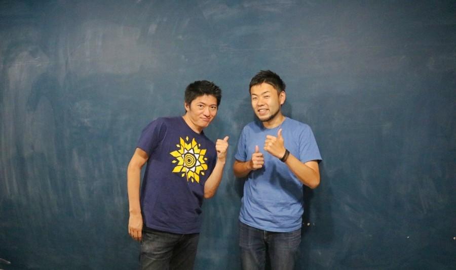 長井秀和さんと太田英基氏