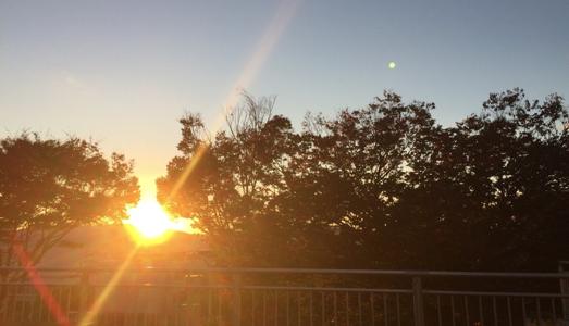 ケンタッキー州の夕陽