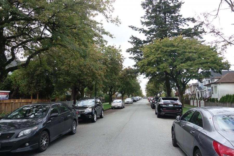 カナダの住宅街