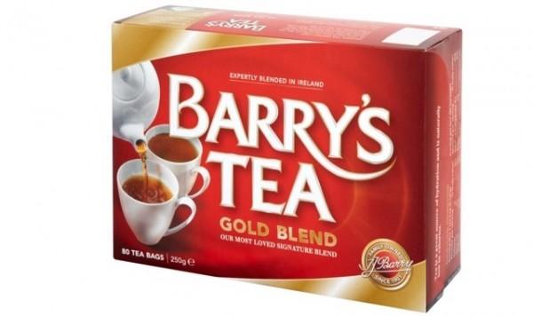 アイルランドのお土産「BARRY'S TEA (バリーズティー) 」