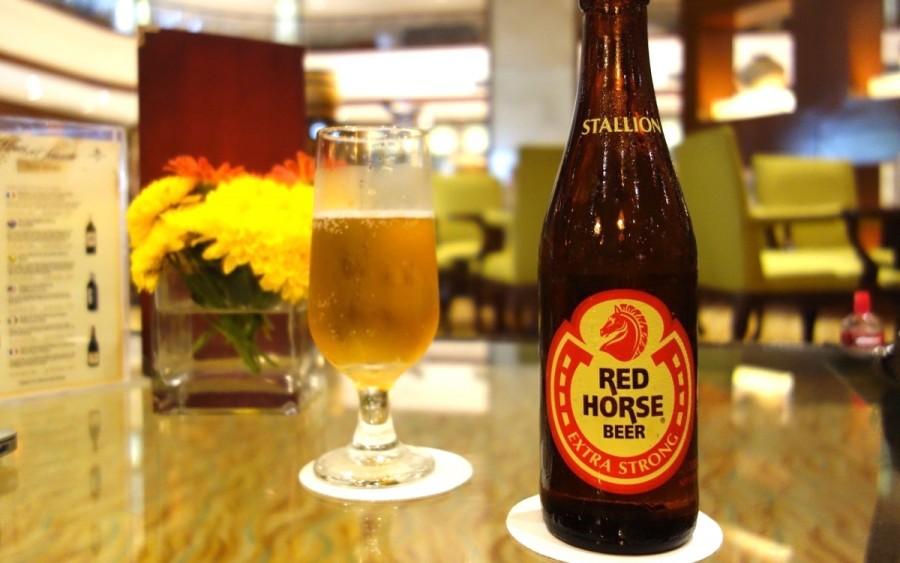 フィリピンのビール レッドホース