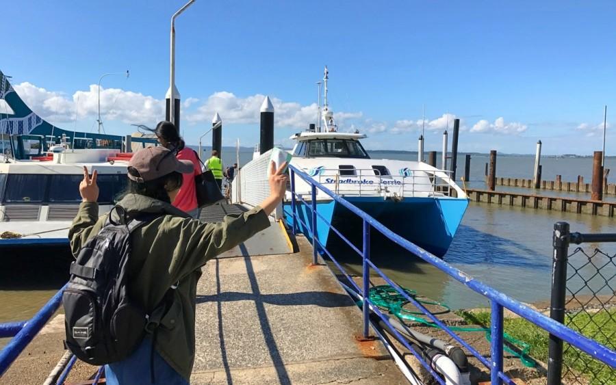 ノース・ストラドブローク島までのフェリーのある港、クリーブランド
