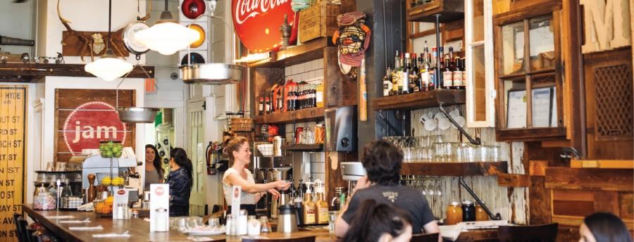 ビクトリア カフェ Jam Cafe