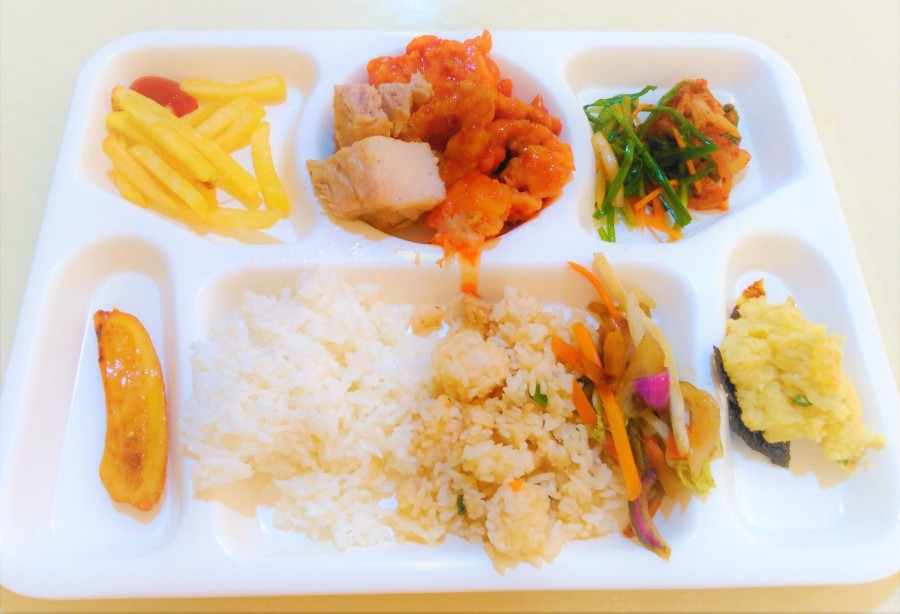 フィリピンの語学学校の食事