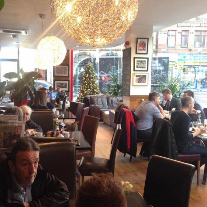 マンチェスター カフェ Cafe North