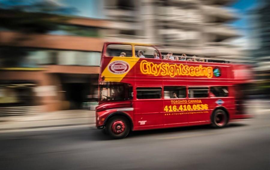 トロントの観光バス