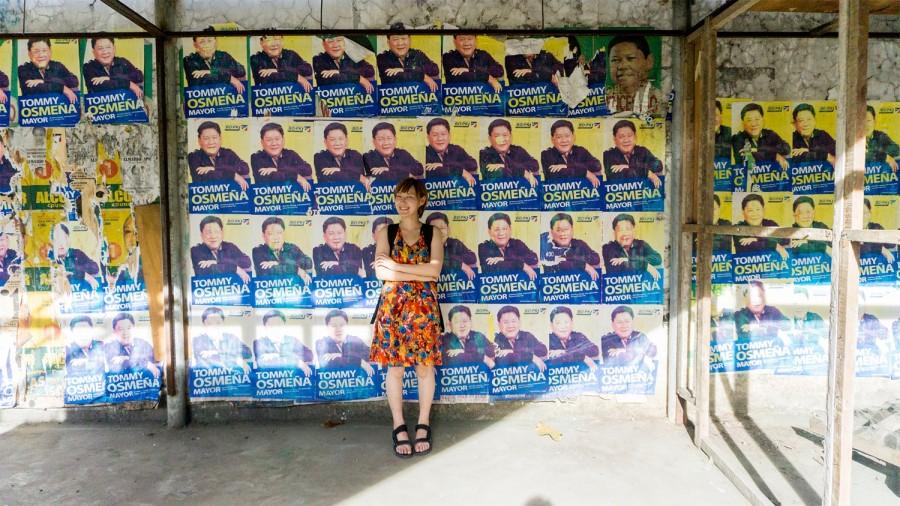 セブの選挙?のポスター