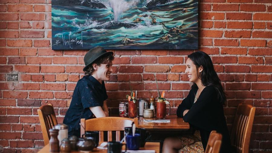 ビクトリア カフェ Blue Fox Cafe