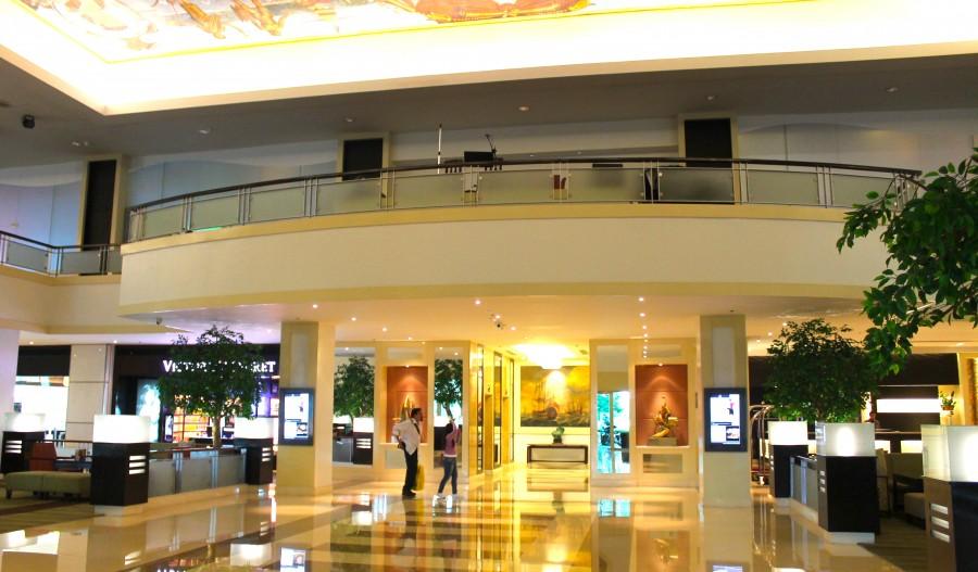 ウォーターフロントセブシティホテル&カジノのロビー・ラウンジ