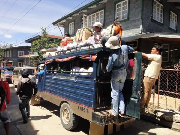 フィリピンのジプニー