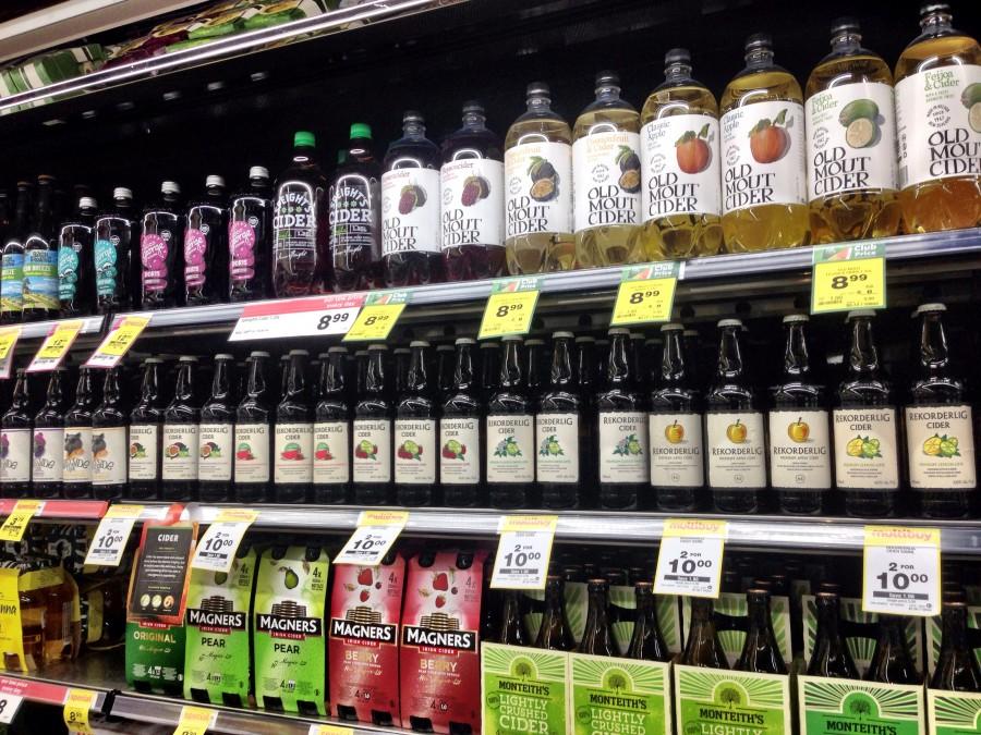 スーパーマーケット・お酒