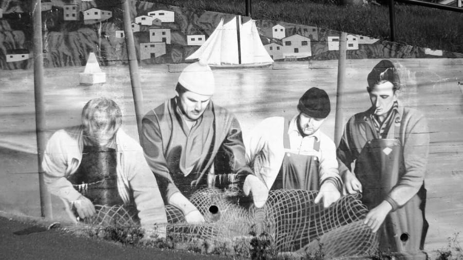 レッドベイのバスク人捕鯨基地