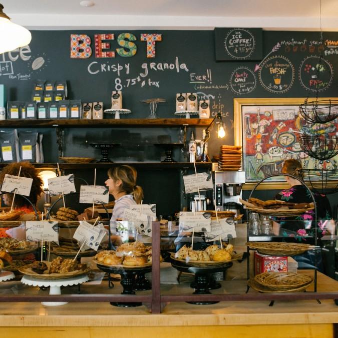 モントリオール カフェ Olive et Gourmando(オリーブ・エ・グルマンド)