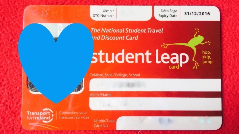 Student leap card(ステューデント・リープカード)
