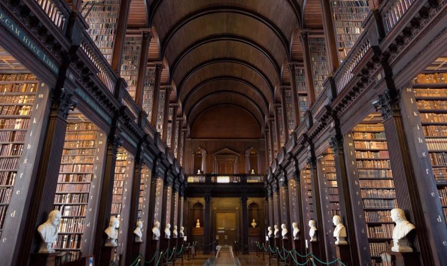 ダブリンのトリニティ大学図書館