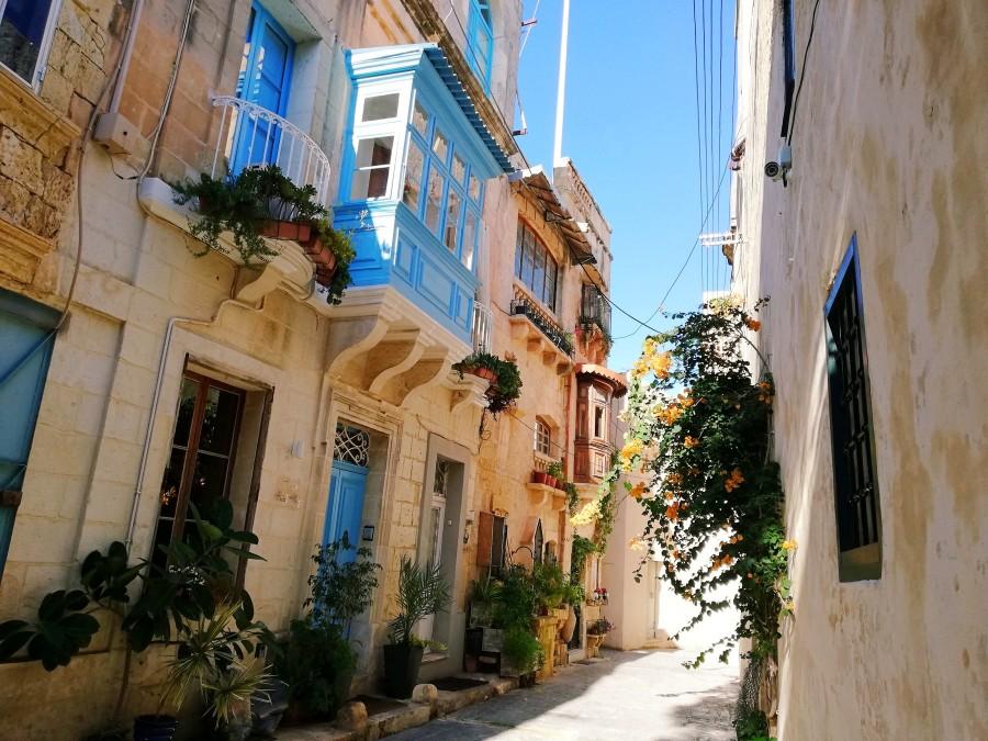 マルタの中世の街並み