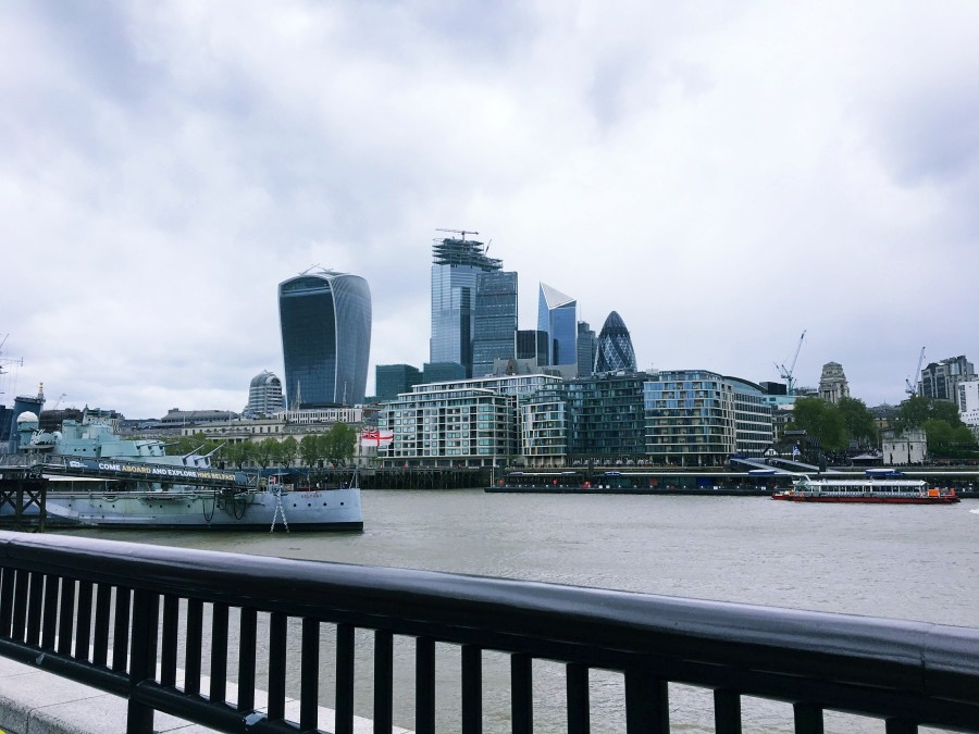 ロンドンのオフィス街