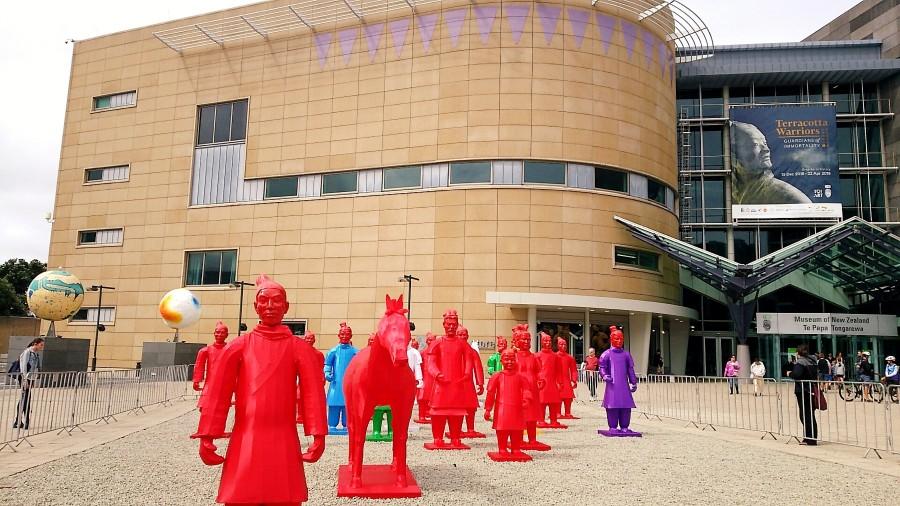 テパパミュージアム外での展示物