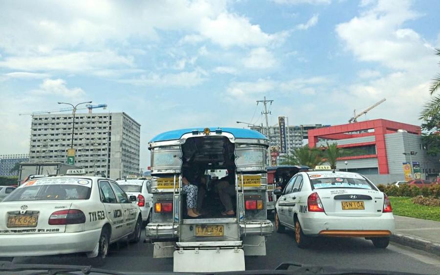 マニラの渋滞