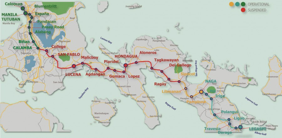 PNR map