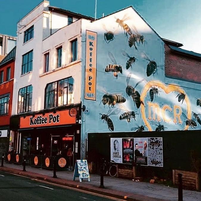 マンチェスター カフェ The Koffee Pot Bar & Cafe