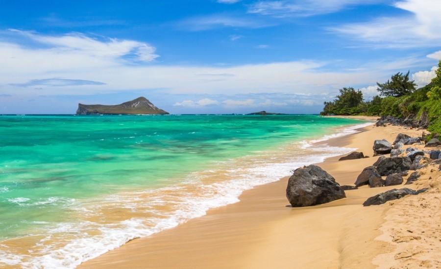 ワイマナロビーチ(Waimanalo, Hawaii)