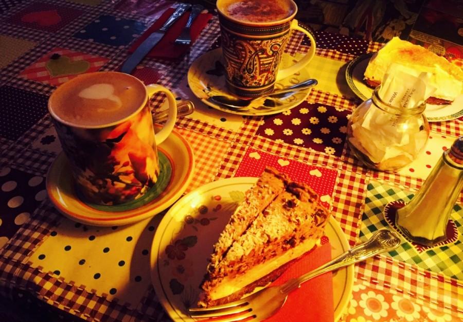 アイルランドのカフェ