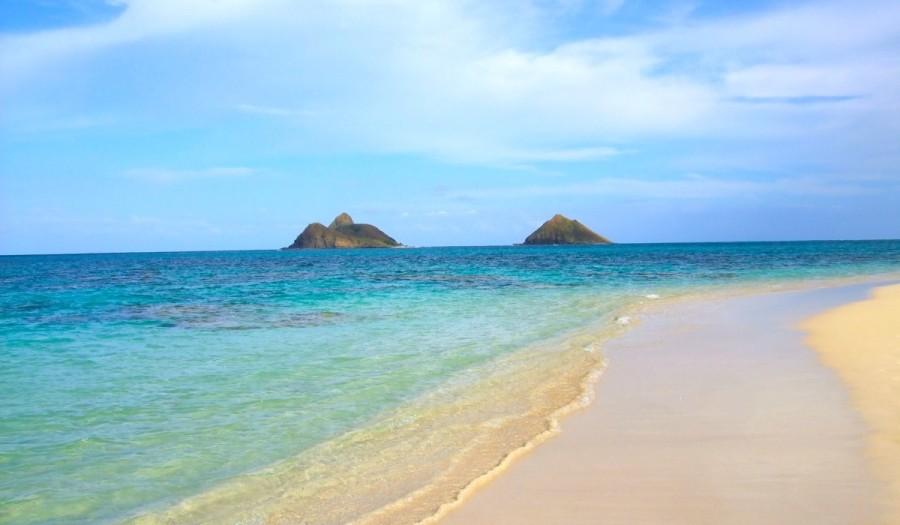 ハワイ・ホノルルのビーチ
