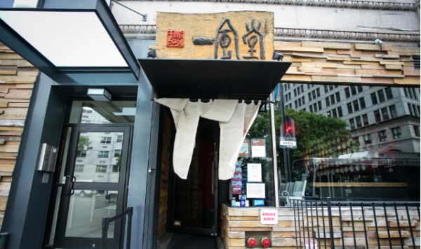 ニューヨークのラーメン屋 ippudo NY