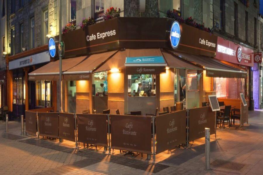 ゴールウェイ カフェ Cafe Express
