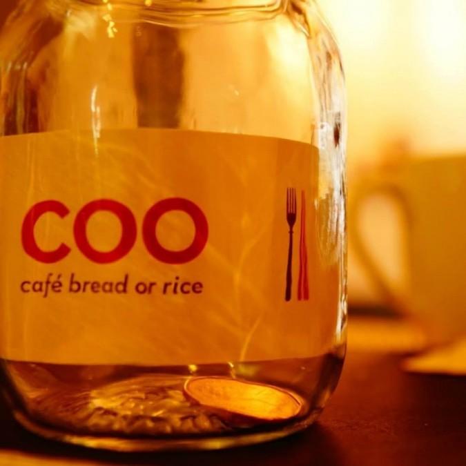トロント レストラン Coo café bread or rice