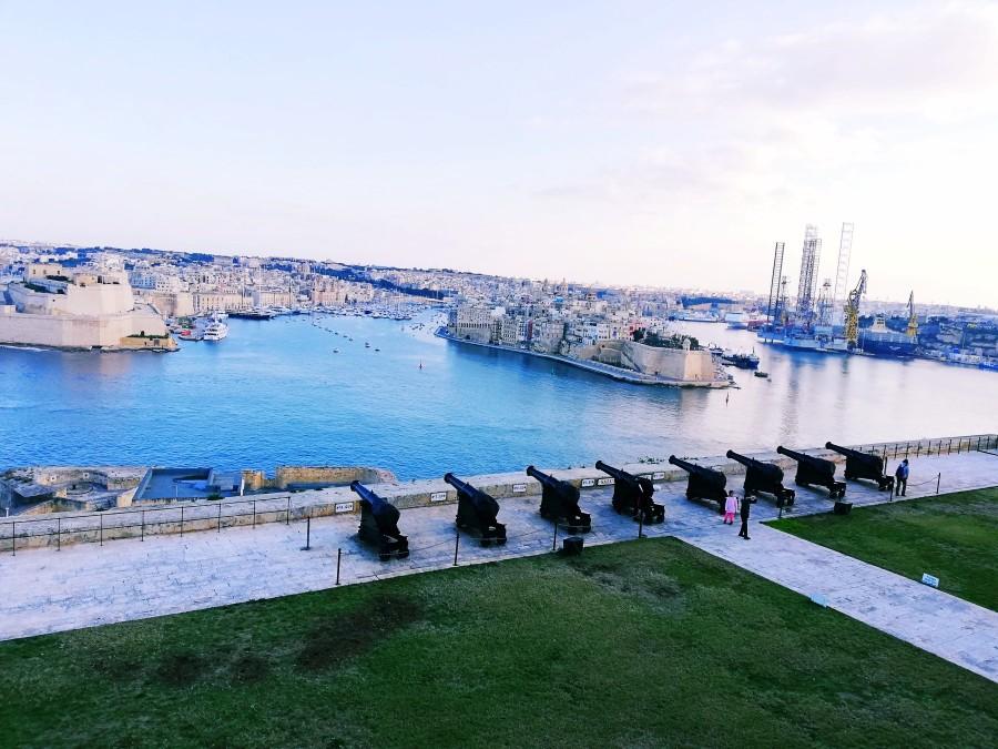 マルタの地中海